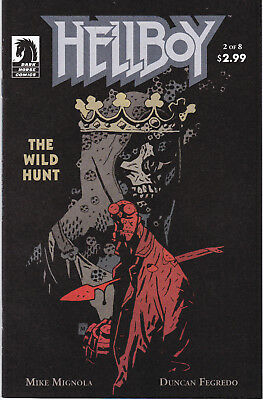 HELLBOY: THE WILD HUNT 2 - 1st CAMEO APP BLOOD QUEEN (MODERN AGE 2007) - 9.2