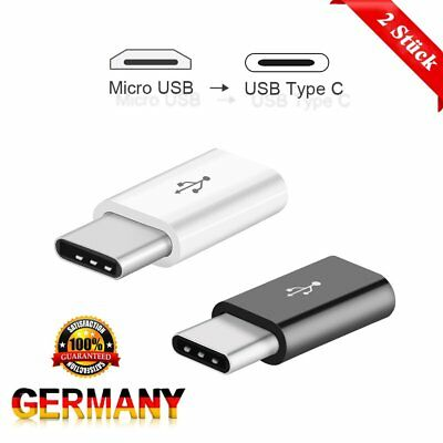 2 X Usb 3,1 Micro Usb Dongle To C-Type Male-To-Usb-Adapter Typ Neu