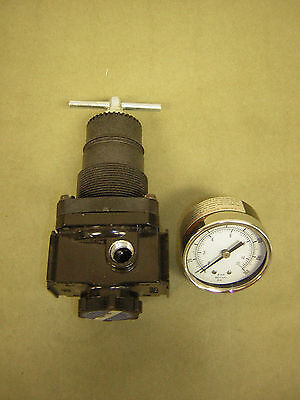 "Motor Guard RG4520 Precision Air Regulator w/Gauge – 100CFM 1/2"" NPT Made in USA"