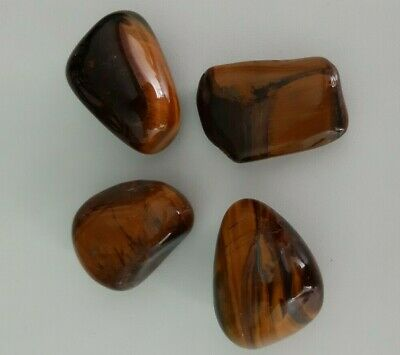Extra Large Tiger Eye Tumblestone One Only High Grade Crystal