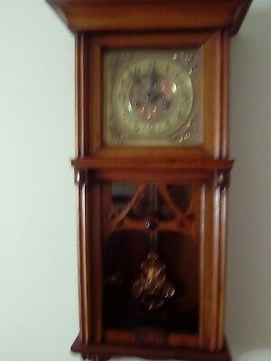 Art Nouveau Antique Wall Clock