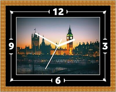 Big Ben London Tower Wall Clock Present Christmas Birthday (Can Be Personalised)