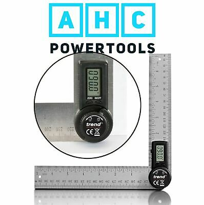 Trend DAR/200 200mm Digital Angle Ruler, Internal and External Angle Finder