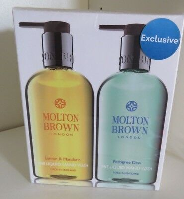 Molton Brown Liquid Hand Wash Set - New/Sealed
