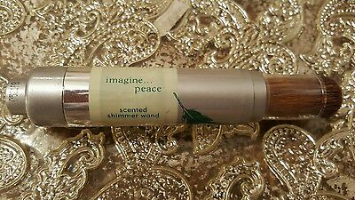 *New! Retired Bath & Body Works Imagine...Peace Scented Shimmer Wand Powder*