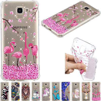 New Ultra Thin TPU Clear Pattern Silicone Gel Back Case Cover For Various Phone