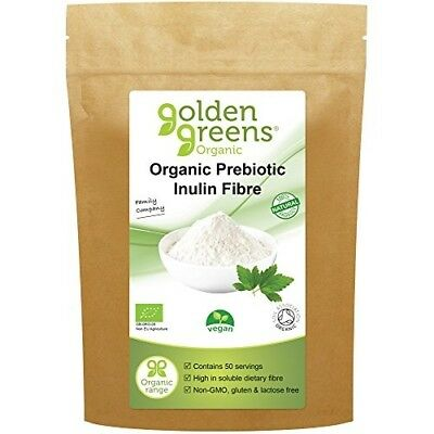 Golden Greens Organic Prebiotic Inulin Fibre 250 Grams