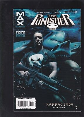 Punisher Max #31 1st Barracuda Appearance!