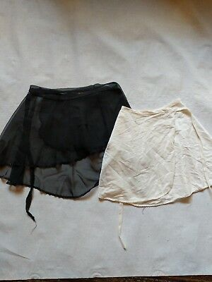 Lot Ballet Skirts size small, Barre, dance, wrap around
