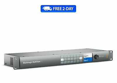 Blackmagic MultiView 16 - New - Free 2 Day Shipping