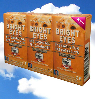 ~~Bright Eyes Cataract Eye Drops for Dogs and Pets 3 Boxes 30ml~~