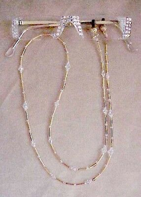 Bling Readers  Reading Glasses And Matching Chain Made With Swarovski Crystals