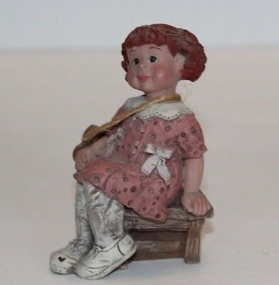 Sarah's Attic Limited Edition #1695 1992 Cupcake Figurine USA Made Ships FREE!