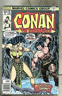 Conan The Barbarian #82-1978 vg John Buscema