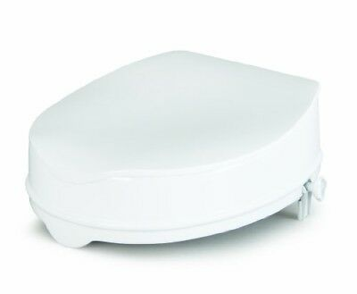 Savanah Raised Toilet Seat with Lid 5 cm/2 Inches (Eligible for VAT relief in th