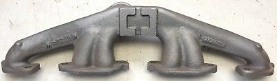 Original Exhaust Manifold Willys Aero 1952 1953 1954 Willys F161 Aero, take out