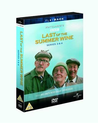 Last of the Summer Wine - Series 3 & 4   with Brian Wilde New (DVD  1973)
