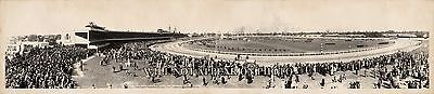"""1940 Kentucky Derby, Churchill Downs Vintage Panoramic Photograph 32"""" Long"""