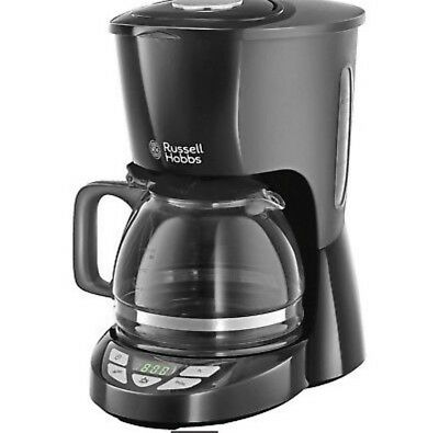 RUSSELL HOBBS 22620-56 Textures Plus, coffee machine, black RRP £169.99