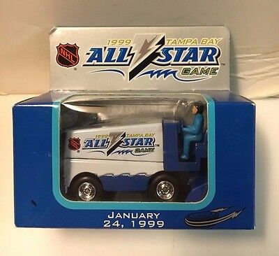 1997 NHL All-Star Game Mini Zamboni NIB Tampa Bay Lightning