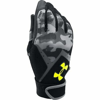 Under Armour Ua Cleanup Youth Baseball Batting Gloves 1291216-002