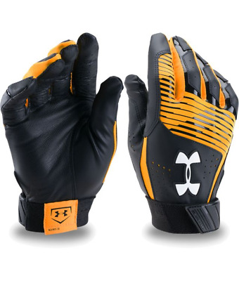 Under Armour Ua Cleanup Youth Baseball Batting Gloves 1299531-750 Msrp