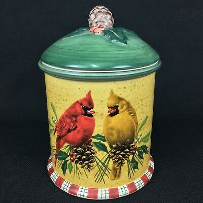 Lenox Winter Greetings Everyday Cookie Jar
