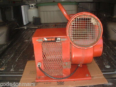 GENERAL EQUIPMENT VENTILATION BLOWER or DRYER MODEL # EP8 ELECTRIC PORTABLE VGC