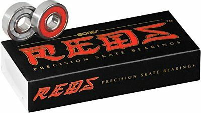 Bones Reds Precision Skate Bearings 16 Pack for 7mm Axles