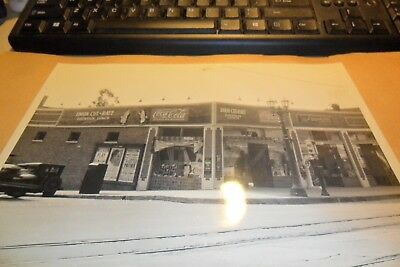 8/10 Black&white Coca Cola Store Front From Salesman Book Union Drugs L.a.