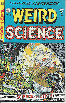 2 Weird Science # 3 & 4 Reprints Double-Sized 1991 Gladstone Publishing