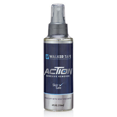 WALKER TAPE Action Adhesive Remover 4oz(118ml), Wigs, Toupee, Hairpiece