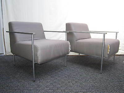 Pair Mid Century Jorge Pensi La Scala Chairs for Kron
