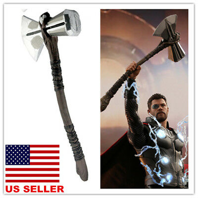 US! 2018 Avengers Infinity War Thor Stormbreaker Axe Cosplay Costume Prop Weapon