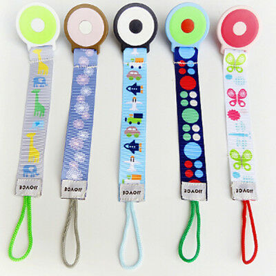 Baby Infant Dummy Pacifier Chain Silicone Teether Soother Nipple Leash Toddler