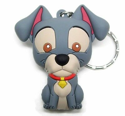Disney 3D Figural Keyring Series 11 TRAMP KEYCHAIN Blind Bag Lady & The Tramp