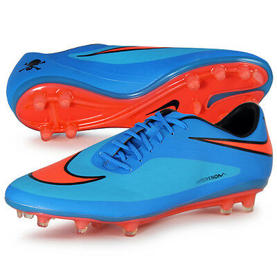 on sale bf735 9a38a Nike Hypervenom Phatal Fg pour Homme Crampons de Football 599075-484 Size  10.5