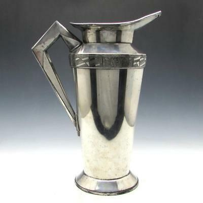 Vintage 1920's Art Deco Benedict Modernistic Cocktail Shaker by Albert Saunders