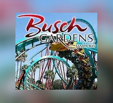 Busch Gardens Tampa Florida Ticket $72   A Promo Savings Discount Tool