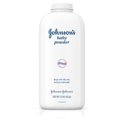 Johnson's Baby Powder, Classic Scent, 22 Oz. Pack of 3