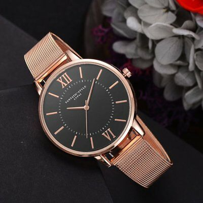 Luxury Jewelry Gifts For Women's Luxury Alloy Mesh Band Quartz Watches FK