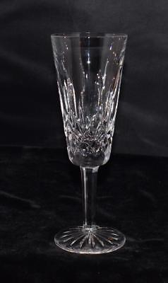 "Waterford Crystal Lismore Champagne Flute - 7.25""H - Excellent"