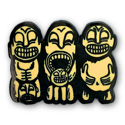 Cannibal Trio Tiki Pin - New - Limited Edition  (Luau - Don the Beachcomber)