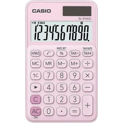 Casio SL310UC-PK My Style 10 Digit Handheld Calculator - Pink