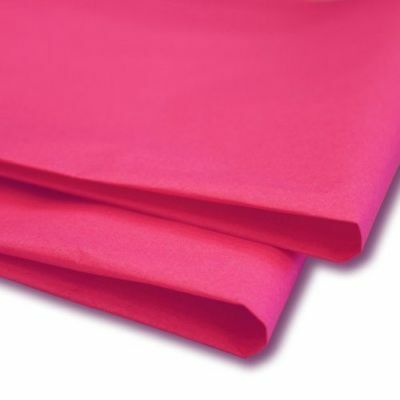 Pink Acid Free Tissue Wrapping Paper Size 450 X 700Mm 18 X 28""