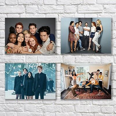 Riverdale Poster A4 NEW Set TV Show Series KJ Apa Cole Sprouse Sexy Guys #2