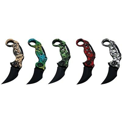Outdoor Scorpion Claw  Knife Hunting  Knives Camping Survival Tactical Tool Hot