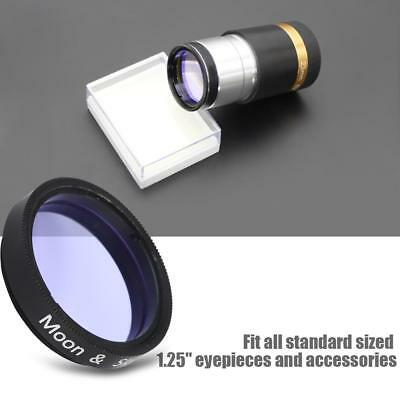 "Datyson 1.25"" Sky Glow&Moon Filter for Telescope Eyepiece Cuts Light Pollution b"