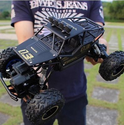 2 Colors High Quality 1:16 4WD RC Cars Alloy Speed 2.4G Radio Control RC Cars