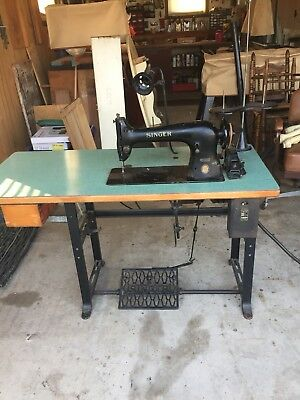 Antique Singer 31-15 Heavy Duty Leather, Upholstery Sewing Machine Tested